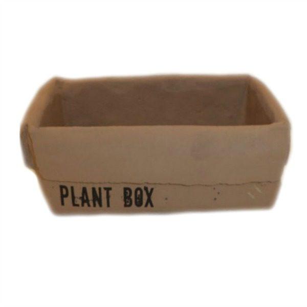 Κεραμικό Γλαστράκι Plant Box.