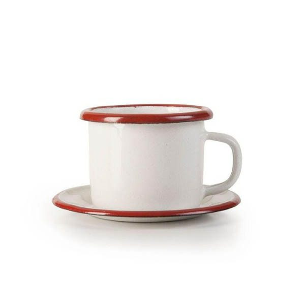 σετ ελληνικού καφέ εμαγιέ