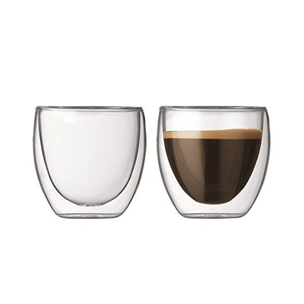 ποτηρια espresso διπλότοιχα