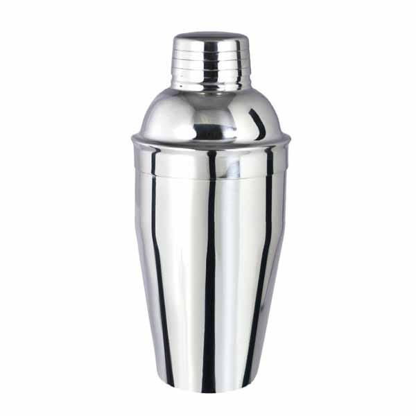 shaker ανοξείδωτο με σίτα 650ml
