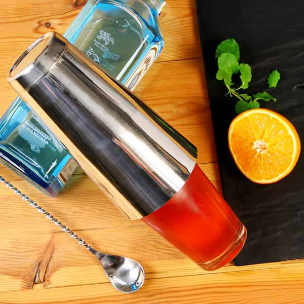 boston shaker cocktails