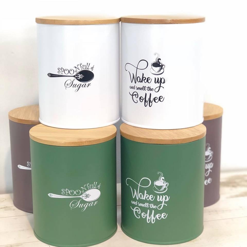 δοχεία καφέ/ζάχαρης
